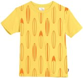 City Threads Surfboards Soft Cotton Jersey Tee (Toddler/Kid) - Yellow - 2T