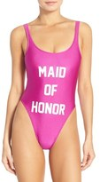 Private Party 'Maid of Honor' One-Piece Swimsuit