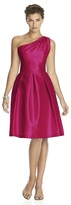 Alfred Sung D458 Bridesmaid Dress in Sangria