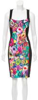 Just Cavalli Printed Bodycon Dress