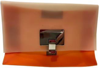 Proenza Schouler Lunch Orange Plastic Clutch bags