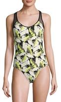 Racerback One Piece Swimsuit