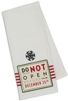 Design Imports December 25Th Dish Towel