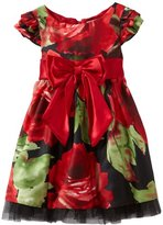 Sweet Heart Rose Girls 2-6X Floral Print Occasion Dress