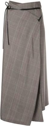 Muller of Yoshio Kubo High-Waisted Check Skirt