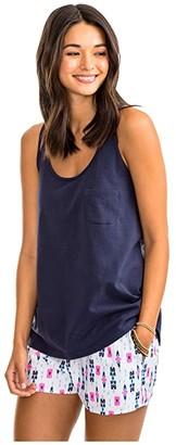 Southern Tide Julie Tank (Nautical Navy) Women's Clothing