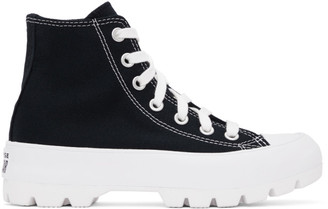 Converse Black Lugged Chuck Taylor All Star Hi Sneakers