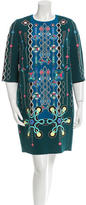 Peter Pilotto Abstract Print Shift Dress
