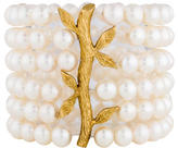 Cathy Waterman 22K Multi Strand Pearl Bracelet