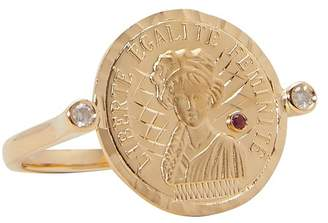 Anissa Kermiche Louise d'Or coin ring