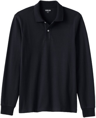 Lands' End Big & Tall Comfort-First Solid Mesh Polo