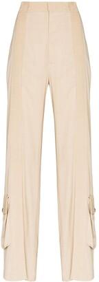 Bottega Veneta Fluid Stripe Trousers