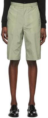 Paul Smith Green Oversize Show Shorts