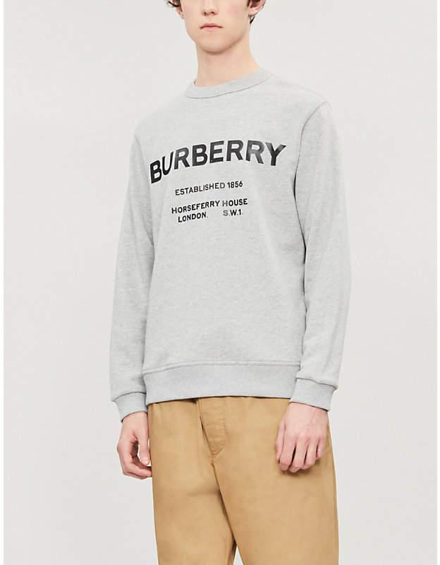 03b367dffe6 Burberry Gray Men's Sweatshirts - ShopStyle