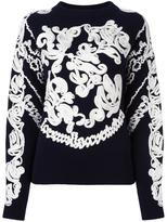 Sacai embroidered jumper