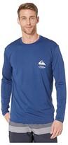 Quiksilver Waterman Greenroom Long Sleeve Rashguard (Estate Blue) Men's Clothing