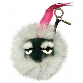 Fendi Bag Bug Turquoise Fur Bag charms
