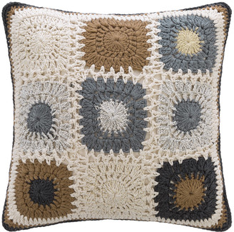 Global Explorer - Crochet Cushion - 45x45cm