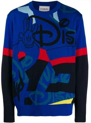Iceberg Disney print jumper