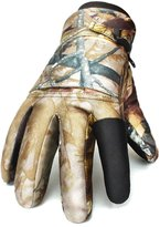 Golovejoy Full Finger Camouflage Tactical Shooting Glove Waterproof Hunting