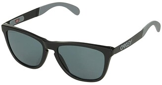 Oakley Frogskin Mix (Matte Black w/ Prizm Grey) Fashion Sunglasses