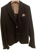 Manuel Ritz Grey Wool Jacket for Women