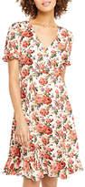 Oasis Utility Rose Tea Dress, Multi
