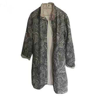 Steffen Schraut Ecru Coat for Women
