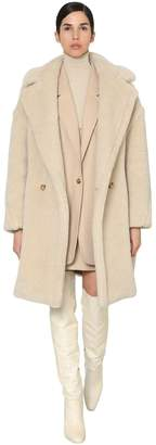 Max Mara LADY TED CASHMERE & SILK BLEND COAT