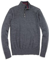 Tailorbyrd Boys' Quarter Zip Wool Sweater - Big Kid