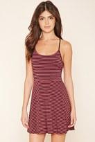 Forever 21 FOREVER 21+ Striped Mini Cami Dress