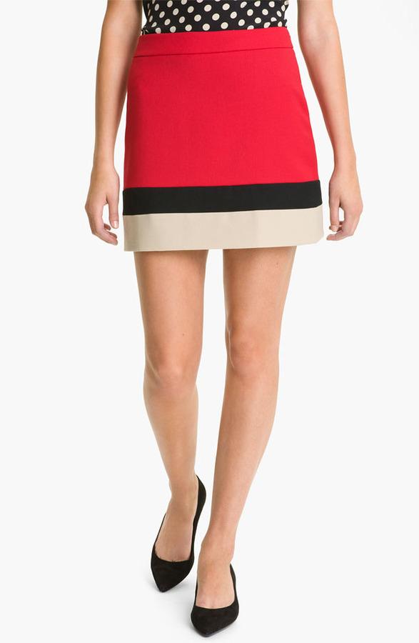 Kate Spade 'evan' wool skirt (Online Exclusive)