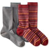 L.L. Bean Men's Everyday Chino Socks, Midweight Two-Pack