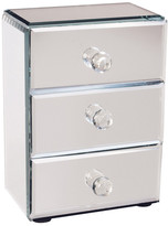 Jay Import Mirrored Jewelry Box