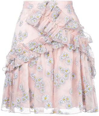 macgraw Floret ruffled skirt