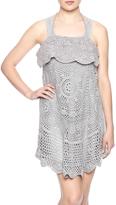 Monoreno Crochet Front Dress