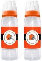 Baby Fanatic Cleveland Browns Baby Bottle 2 Pk-Size: One Size by
