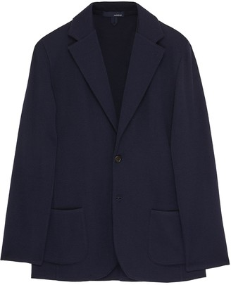 Lardini Notch lapel wool blazer