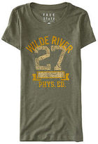 Aeropostale Womens Free State Wilde River Graphic T Shirt