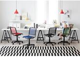 Container Store Bungee Office Chair Pink Berry