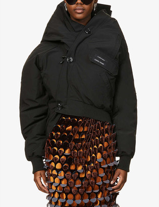 Y/Project x Canada Goose Chilliwack shell-down bomber jacket