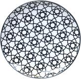 Design Studio Tokyo Nippon Black Dinner Plate - Stripe