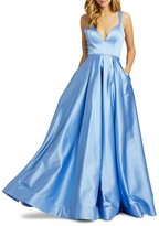 Thumbnail for your product : Mac Duggal Empire Satin Gown