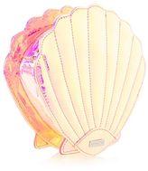 Skinnydip **holographic shell cross body bag