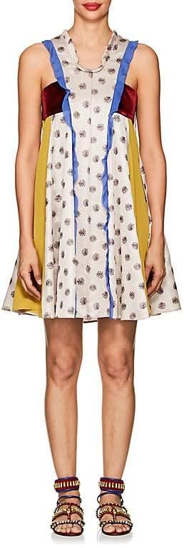 Valentino Women's Patchwork A-Line Dress