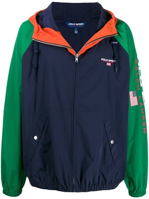 Polo Ralph Lauren American flag print jacket
