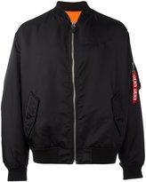 Golden Goose Deluxe Brand front zip bomber jacket