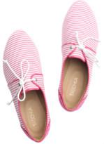 Taschka Lax Candy Stripe Brogues 3 PinkWhite