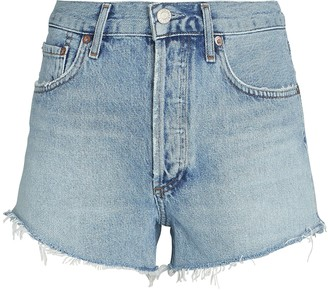 AGOLDE Parker Cut-Off Denim Shorts