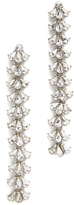 Ben-Amun Crystal Cluster Duster Earrings